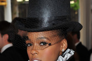 Janelle Monae Top Hat