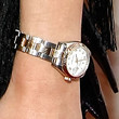 January Jones Gold Bracelet Watch