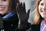 Jenna Bush Leather Gloves