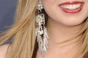 Jennette McCurdy Dangling Chain Earrings
