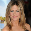 Jennifer Aniston Hair - Long Center Part