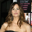 Jennifer Garner Long Straight Cut with Bangs