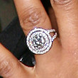 Jennifer Hudson Jewelry - Engagement Ring