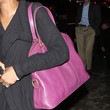 Jennifer Hudson Leather Shoulder Bag