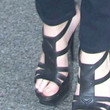 Jennifer Lawrence Shoes - Platform Sandals