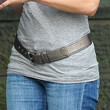 Jennifer Lopez Leather Belt