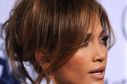 Jennifer Lopez Loose Bun