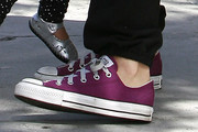 Jessica Alba Canvas Shoes
