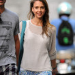 Jessica Alba Clothes - Crewneck Sweater