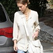Jessica Alba Clothes - Loose Blouse