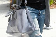 Jessica Alba Patent Leather Tote