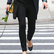 Jessica Biel Clothes - Skinny Pants