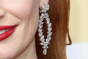 Jessica Chastain Hoop Earrings