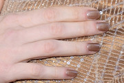Jessica Chastain Neutral Nail Polish