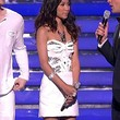 Jessica Sanchez Strapless Dress