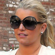 Jessica Simpson Butterfly Sunglasses