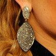 Jessica Simpson Jewelry - Dangling Diamond Earrings
