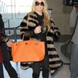 Jessica Simpson Clothes - Fur Coat