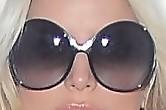 Jessica Simpson Novelty Sunglasses