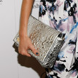 Jessica Stroup Metallic Clutch