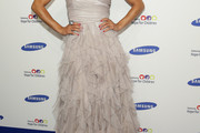 Jessica Szohr Strapless Dress