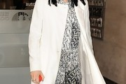 Jessie J Wool Coat