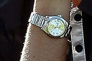 Jill McGill Titanium Quartz Watch