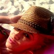 Jodie Marsh Hats - Straw Hat