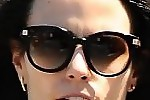 Jordana Brewster Novelty Sunglasses