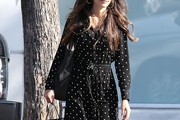 Jordana Brewster Shirtdress