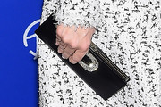 Tina Fey Satin Clutch