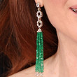 Julianne Moore Jewelry - Dangling Gemstone Earrings
