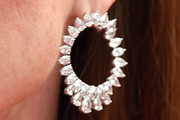 Julianne Moore Hoop Earrings