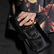 Julianne Moore Satin Clutch