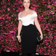 Julie Delpy Off-the-Shoulder Dress