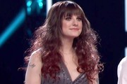 Juliet Simms Long Curls with Bangs