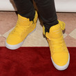 Justin Bieber Leather Sneakers