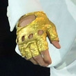 Justin Bieber Accessories - Metallic Gloves