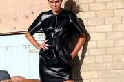 Catherine McNeil Leather Dress