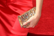 Kacey Coppola Gemstone Inlaid Clutch