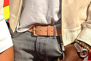 Kanye West Leather Belt