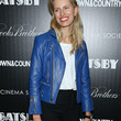 Karolina Kurkova Clothes - Leather Jacket