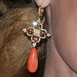 Kate Bosworth Jewelry - Dangling Gemstone Earrings