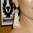 Kate Hudson Jewelry - Dangling Pearl Earrings