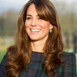 Kate Middleton Hair - Long Curls with Bangs