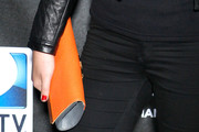 Kate Upton Leather Clutch
