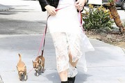 Katharine McPhee Long Skirt