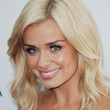 Katherine Jenkins Medium Wavy Cut