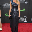 Katherine Kelly Lang One Shoulder Dress