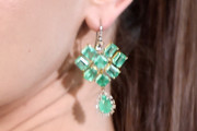 Katherine Langford Chandelier Earrings